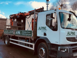 QUALITY TOP SOIL FOR JUST £26 PER TONNE FROM ALPINE BUILDING SUPPLIES