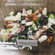 15% OFF SALADS & CROISSANTS AT TEA & CO