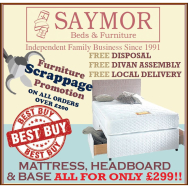 Saymor's Furniture Scrappage Service Promotion Is Back!