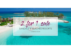 Sandals & Beaches 2for1 sale