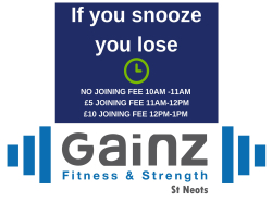 Gainz Fitness & Strength St Neots - SPECIAL FLASH SALE OFFER