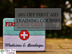 10% off First Aid Training
