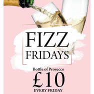 Fizz Friday's at Harvey's Restaurant & Gin Bar