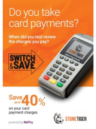 Save up to 40% on card payment charges