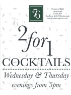 2 for 1 Cocktails at No. 76.