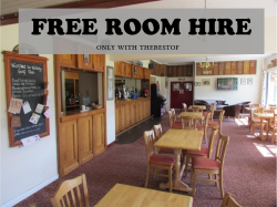 Free Room Hire for any function
