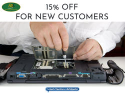 15% off Labour  costs for new customers