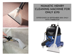 Numatic Henry Cleaning Machine for £170