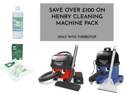 Save over £100 on Henry Cleaning Machine Pack