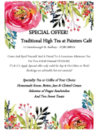 High Tea Special Offer At Painters Cafe