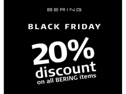 Black Friday - 20% off Bering Watches