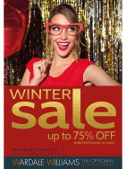 Winter Sale at Wardale Williams