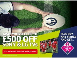 RUGBY WORLD CUP TVS
