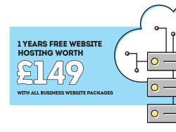 1 YEAR FREE WEBSITE HOSTING!