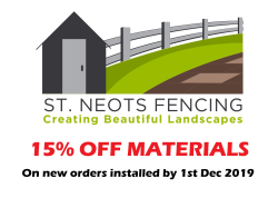 St Neots Fencing - 15% OFF MATERIALS