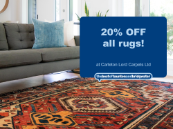 20% off all rugs