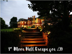 4* Moor Hall Hotel Escape, Breakfast & Carvery Dinner From Just £99 For 2