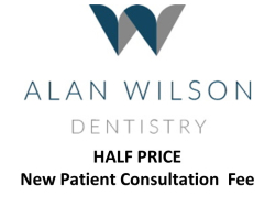 HALF PRICE  New Patient Consultation for £37.50 at Alan Wilson Dentistry