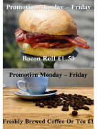 Weekday offers at Caffè Belrai