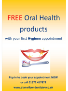 FREE Oral Health Products with your 1st Hygiene Appointment at Alan Wilson Dentistry