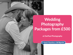 Wedding Photography Packages from £500