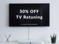 50% Off TV Retuning