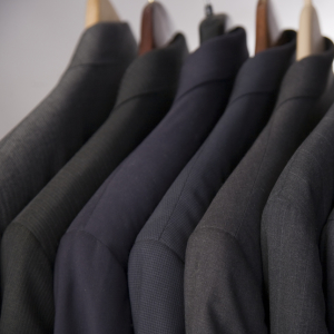 Two Suits Dry Cleaned and Pressed for just £13.99