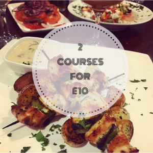 Tuesday to Thursday Lunch offer at Olive.