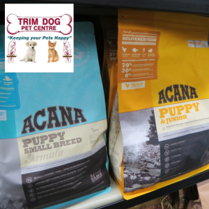 BUY 7 BAGS OF ACANA PET FOOD AND GET 1 FREE AT TRIM DOG