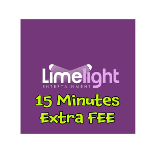 15 Minutes Extra Free Entertainment on all packages.