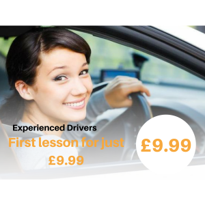 1st Driving Lesson ONLY £9.99