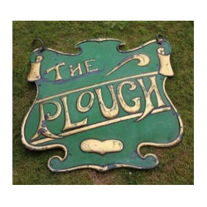 15% OFF selected sculptures - The  Plough pub sign
