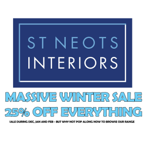 WINTER WARMER SALES 25% OFF EVERYTHING