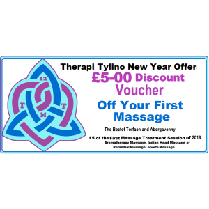 £5 off your First Massage