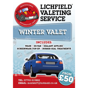 Winter Car Valet from £50