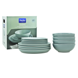 50% off Denby 12 pc Dinner Set