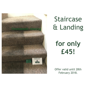 Any Staircase and Landing cleaned for £45