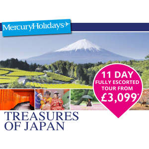 11 day Escorted Tour from £3149pp