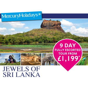 9 day Escorted Tour from £1199pp