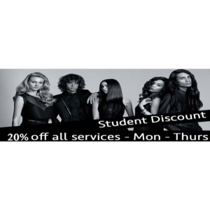 BIG Student Discount (Mon - Thurs) at Paul Watts Hairdressing!