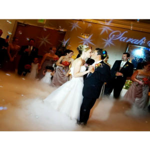 FREE Low Fog for your first dance, for any wedding package when booked for 2019