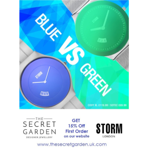 Storm 15% off First Order on our website