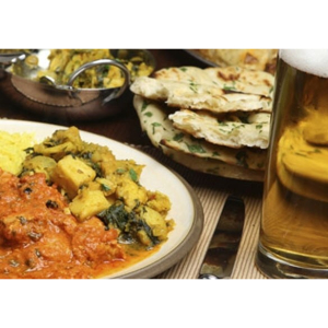 Curry and a Pint Offer at The Royal.