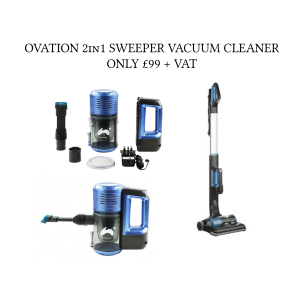 Ovation 2 in 1 sweeper