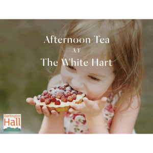 Seasonal teas at the White Hart - Dartington Hall