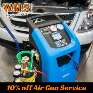 10% OFF AIR CONDITIONING SERVICE WITH WMS