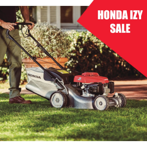 Discounted Honda Lawn Mowers