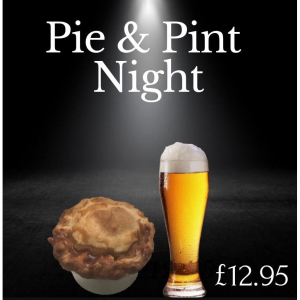 Pie and a Pint Night at the Beeswing on Wednesday.