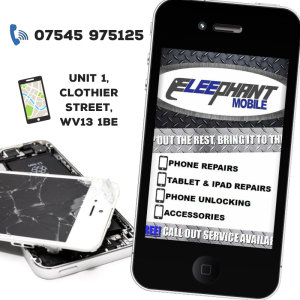 10% off all repairs at Eleephant Mobile