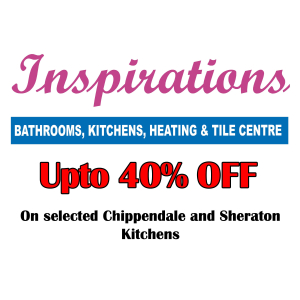 Upto 40% off selected Sheraton & Chippendale Kitchens